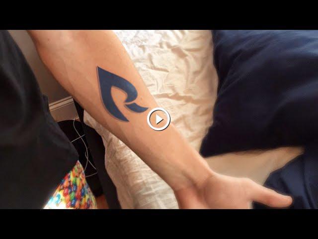 Rain Logo Tattoo