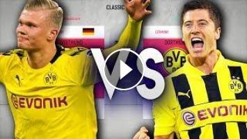 Haaland S Dortmund Vs Lewandowski S Dortmund Fifa 20 Experiment