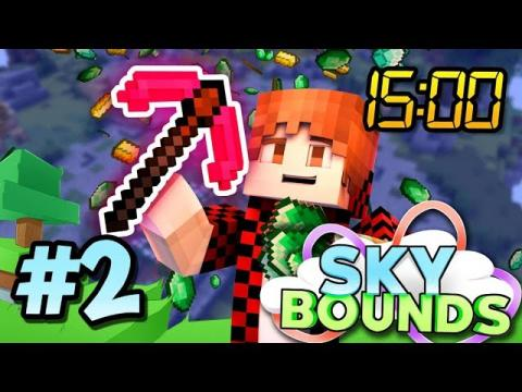 Minecraft Skyblock SKYBOUNDS : SUPER CHARGED CREEPER vs YouTuber