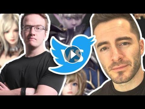 High Stakes Twitter Challenge vs  Mini Ladd (Lineage 2