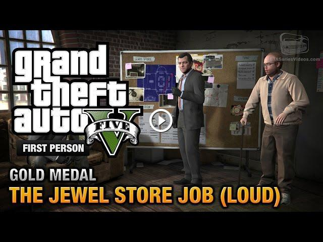 gta 5 mission 13 the jewel store job loud approach. Black Bedroom Furniture Sets. Home Design Ideas