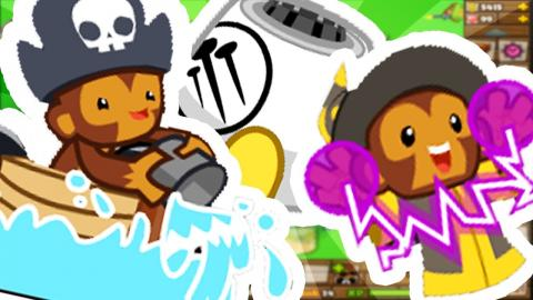 SUPERSTORM DRUID TIER 5 SUPER TOWER - Bloons TD 6 (BLOONS