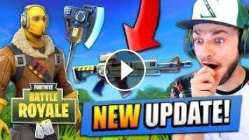 NEW* UPDATE for Fortnite: Battle Royale! (New Guns, Maps + MORE)