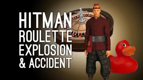 Hitman Roulette Hitman No Disguise Accident Explosion Challenge