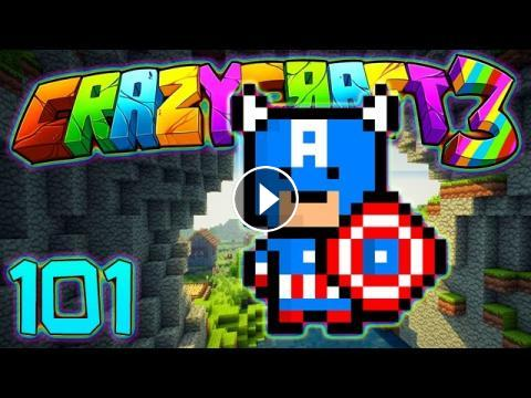 Minecraft crazy craft 3 0 super hero lair captain for Crazy craft 3 0 server