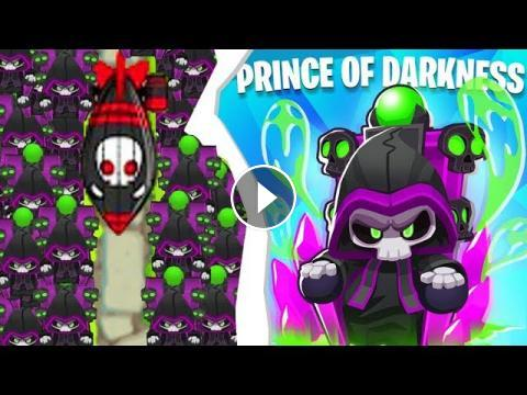 Bloons TD 6 - The TIER 6 Prince Of Darkness Tower | JeromeASF