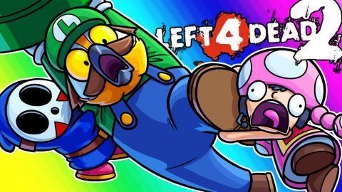 Left 4 Dead 2 - Dinosaurs vs  Teletubbies! (Mods Funny Moments)