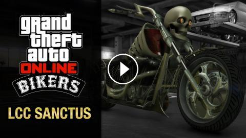 GTA Online: Biker Update - LCC Sanctus [+ Halloween Surprise DLC ...