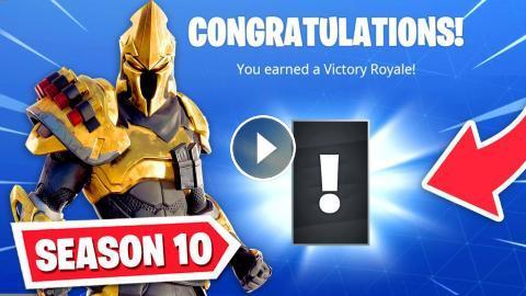 New Fortnite Season 10 Secret Unlock Season X