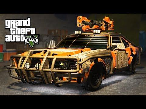 gta online cars with guns