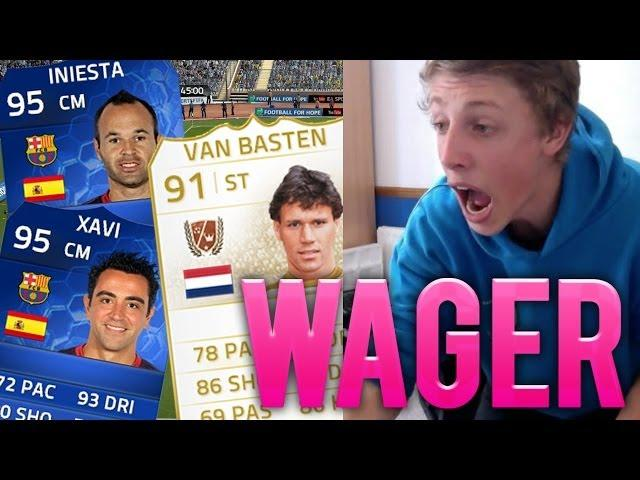 HUGE TOTY + LEGEND WAGER!! -  FIFA 14 Ultimate Team