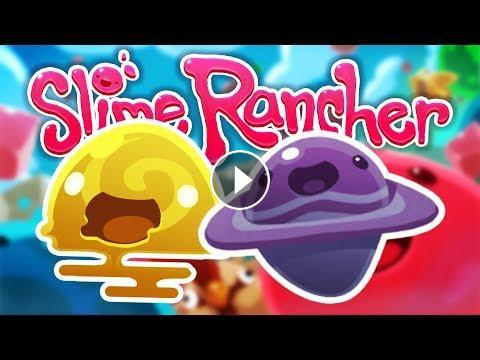 NEW SLIMES!! (Slime Rancher #5)