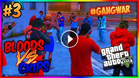 Gta 5 Twin Brothers Bloods Vs Crips Gang War 3 Gta 5 Rp