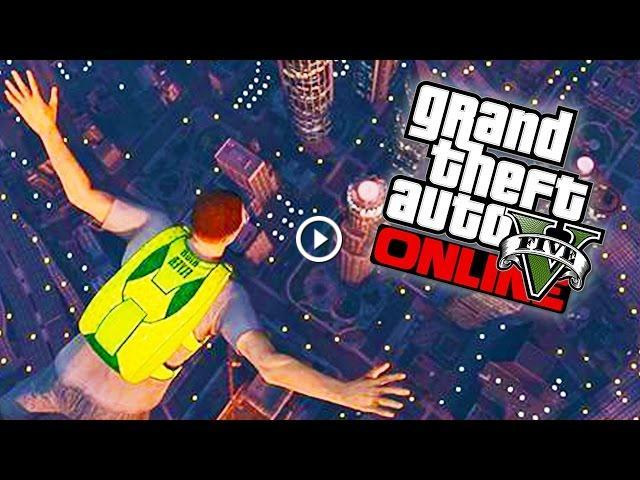 "GTA 5 Online - Special ""HIGH FLYER"" Parachute Pack Guide & Double RP"
