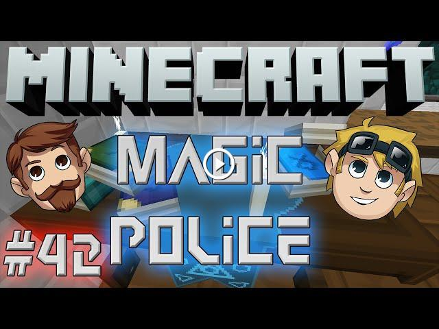 Minecraft Magic Police #42 - Potion Brewing (Yogscast Complete Mod Pack)