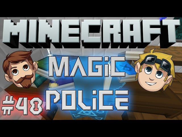 Minecraft Magic Police #48 - All The Pigs To The Yard (Yogscast Complete Mod