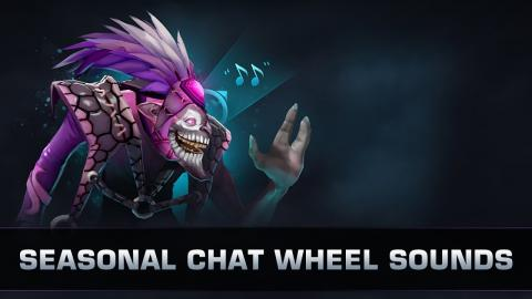 Dota 2 Seasonal Chat Wheel Sounds - TI9 Battle Pass