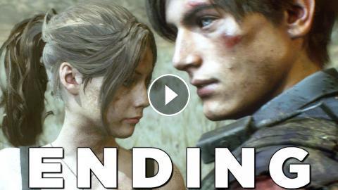 Resident Evil 2 Remake True Ending Final Boss Walkthrough