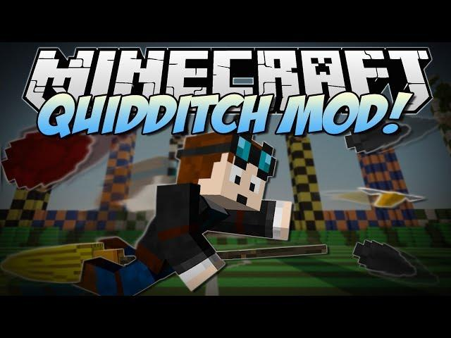 Minecraft Quidditch Mod Harry Potter Brooms Bludgers More