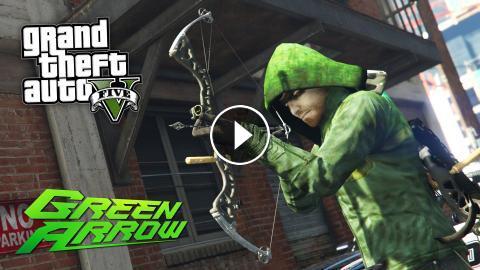 GTA 5 Mods - ULTIMATE ARROW MOD!! GTA 5 Green Arrow Mod