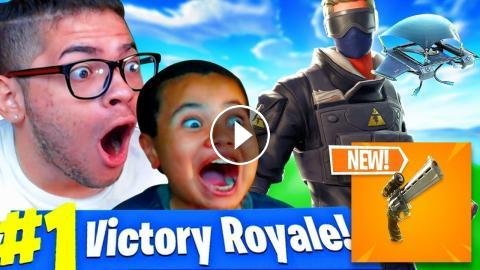 New Scoped Revolver Gameplay In Fortnite Battle Royale 10 Year