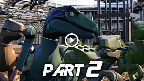 LEGO Jurassic World Video Game Walkthrough Gameplay Part 2