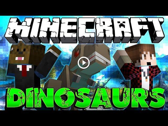 how to get dinosaurs on minecraft ipad