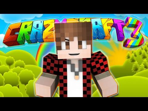 Minecraft Crazy Craft 3.0: WELCOME TO THE ADVENTURE #1 (Modded Roleplay)