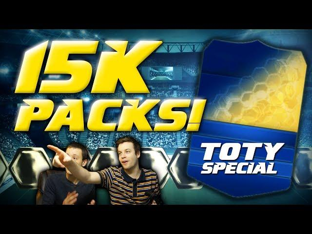 FIFA 14 - TOTY 15k HAPPY HOUR PACKS!