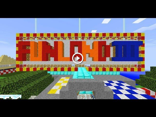 Minecraft Theme Park KITPVP Amusement Park - Minecraft spiele server deutsch