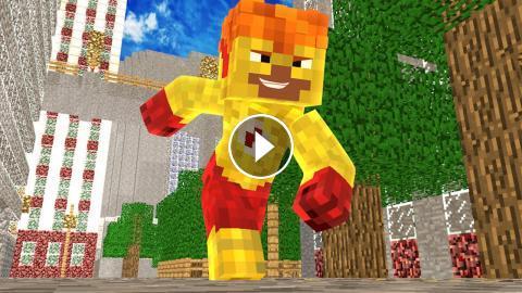 Minecraft O Kid Flash Chegou 24 Herois