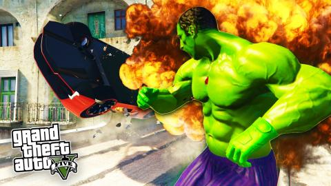 GTA 5 Mods - THE HULK MOD 2 0 w/ NEW ABILITIES! GTA 5 Hulk