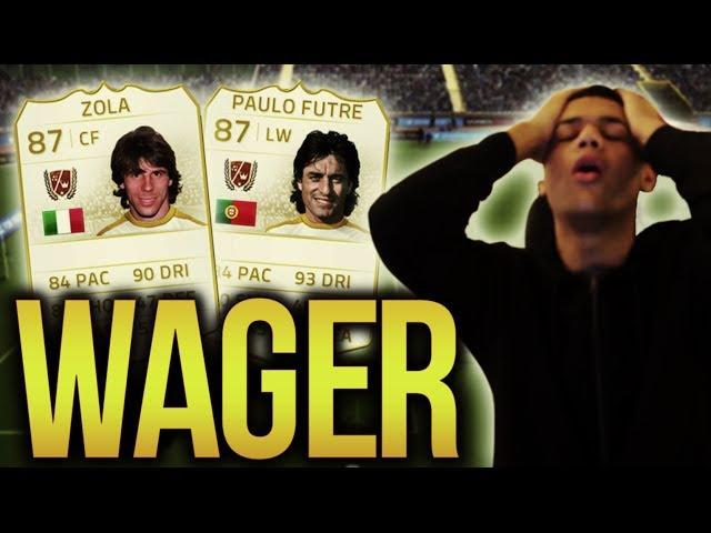 CRAZY DOUBLE LEGEND WAGER!!!! - FIFA 14 Ultimate Team