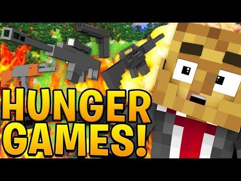 INFECTION MODDED MINECRAFT HUNGER GAMES ON FORTNITE TILTED TOWERS - Minecraft hunger games auf deutsch