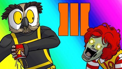 Cod Zombies Funny Moments Vanoss Burger Secret Formula