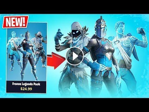 Fortnite New Frozen Legends Pack Pro Fortnite Player