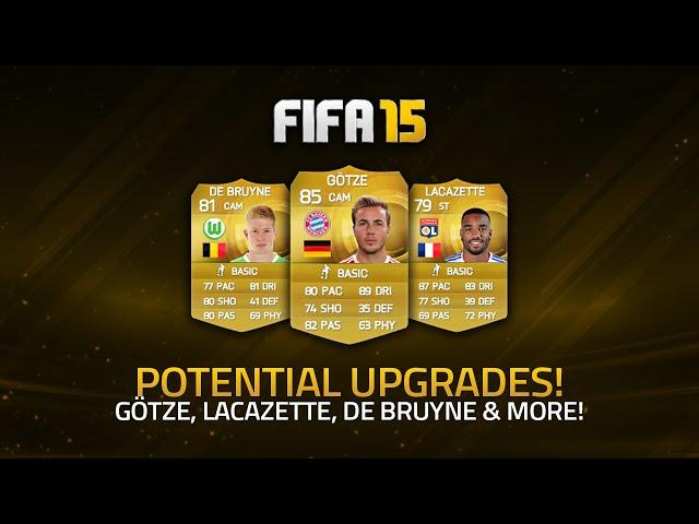 POTENTIAL JANUARY UPGRADES! - GÖTZE, LACAZETTE, DE BRUYNE & MORE! | FIFA 15 Ultimate Team