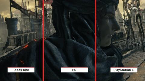 Dark Souls 3 Graphics Comparison Pc Vs Ps4 Vs Xbox One
