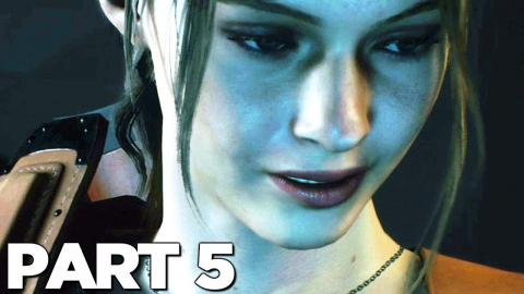 RESIDENT EVIL 2 REMAKE CLAIRE A Walkthrough Gameplay Part 4