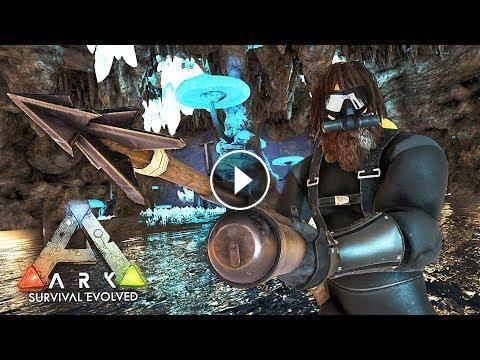 ARK: Survival Evolved - EXPLORING UNDERWATER CAVES!! (ARK Ragnarok