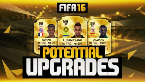 POTENTIAL UPGRADES! - AUBAMEYANG, COMAN, WILLIAMS & MORE! | FIFA 16 ULTIMATE TEAM