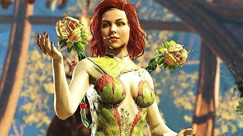 Injustice 2 Poison Ivy Gameplay Trailer