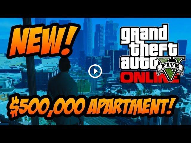 GTA 5 Online - High Life Update, All 5 NEW Apartments ...