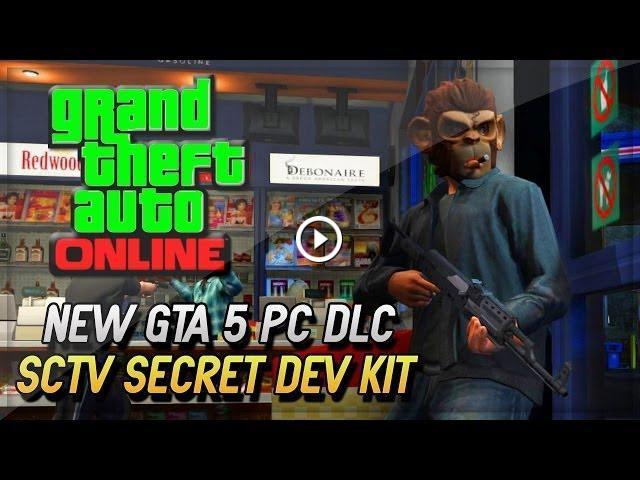 GTA 5 DLC Secret Dev Kit PC Gameplay - Secret SCTV! (GTA 5 ...