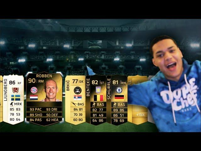 YAAAY HAPPY HOUR PACKS!!!! 500K PACK OPENING Fifa 14 Ultimate Team