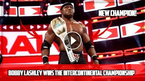 Bobby Lashley Wins The Intercontinental Championship Wwe Raw 114