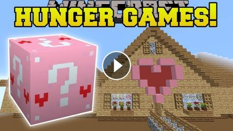minecraft videos gaming with jen lucky block