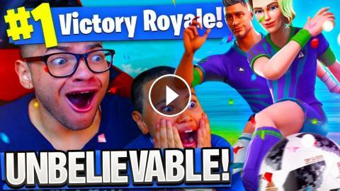 New Soccer Skin Made 9 Year Old Little Brother Unstoppable He Won
