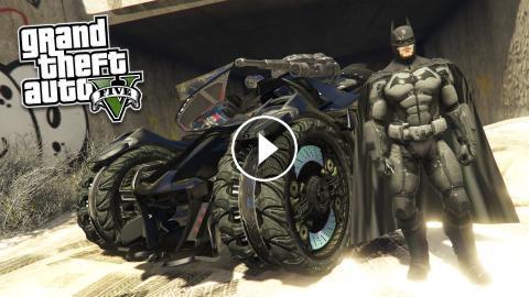 GTA 5 PC Mods - ULTRA REALISTIC BATMAN MOD! GTA 5 Batman Mod