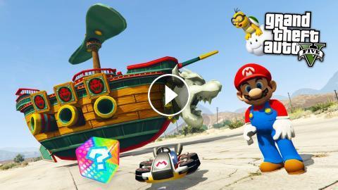 Gta 5 Mods Ultimate Super Mario Mod Gta 5 Super Mario Mod